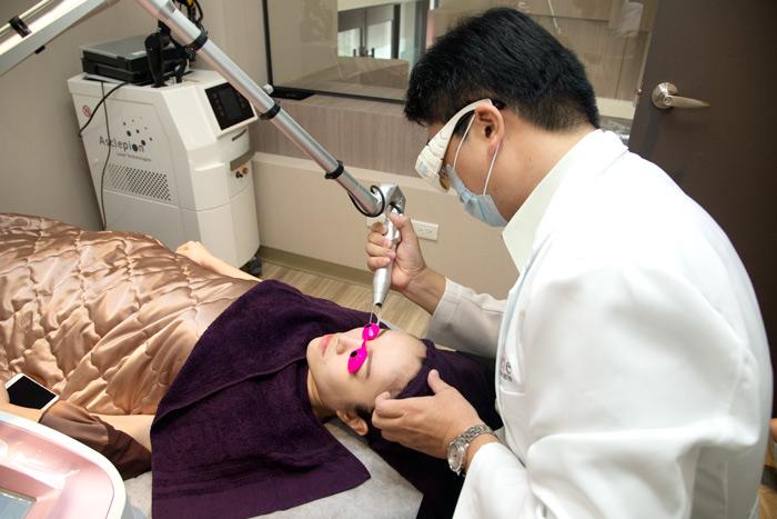 淨膚雷射手術過程